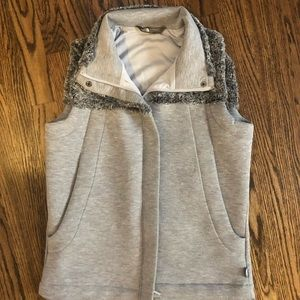 The North Face zip vest